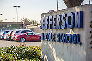 Jefferson Middle School in San Gabriel