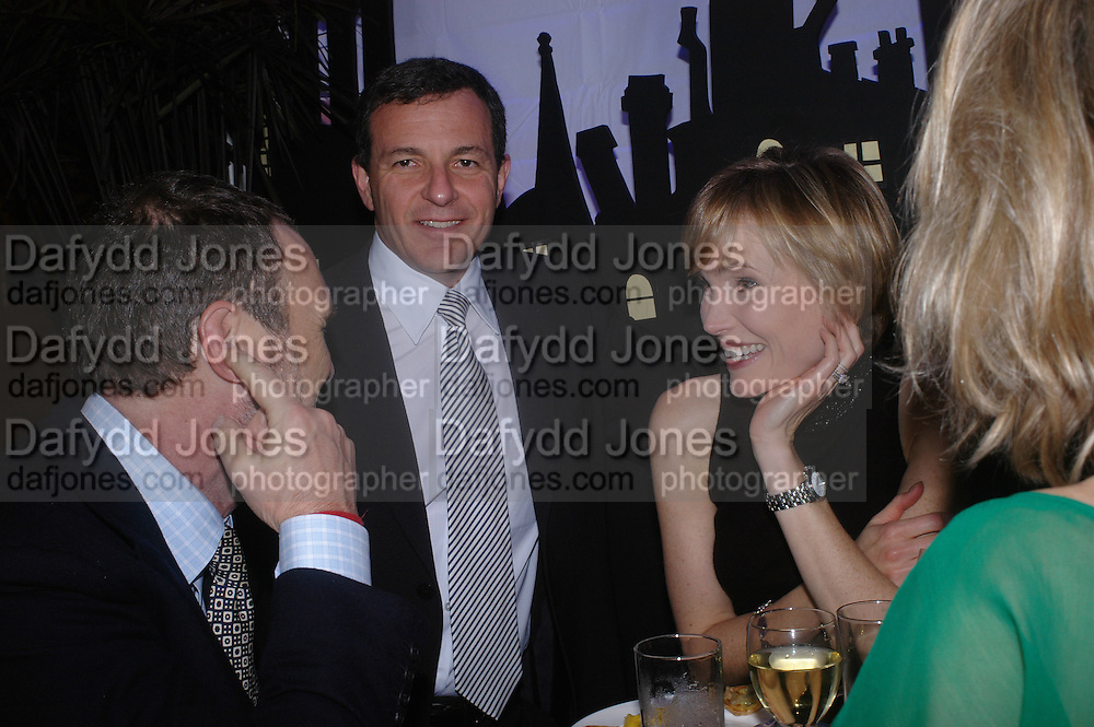 A.A. Gill, Bob Iger and Willow Bay. Opening night of Mary Poppins at the Prince Edward Theatre and party afterwards at 1 Leicester Sq. 15 December 2004. SUPPLIED FOR ONE-TIME USE ONLY> DO NOT ARCHIVE. © Copyright Photograph by Dafydd Jones 66 Stockwell Park Rd. London SW9 0DA Tel 020 7733 0108 www.dafjones.com