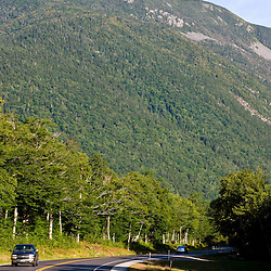 US 302 in New Hampshire's White Mountains.  Crawford Notch State Park.