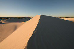 Sand dunes behind Eighty Mile Beach on Mandora Station south of Broome