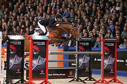 Houwen Kristian (NED) - Cidane<br /> KWPN Hengstenkeuring - 's Hertogenbosch 2013<br /> © Dirk Caremans
