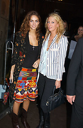 Left to right, ROSE HANBURY and the HON.SOPHIA HESKETH at the opening party for the new BECCA cosmetics store at 91a Pelham Street, London SW7 on 19th May 2005.<br />