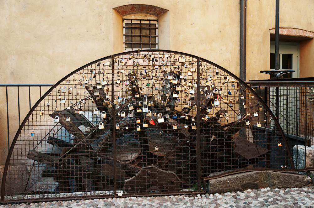 Love Padlocks, Borghetto Italy
