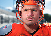 August 30, 2018 Marple Newtown's football team holds its last practice before Friday's season opener. Here, OL/LB Sal Tartaglia, who is back on field after being diagnosed with Hodgkin's lymphoma and undergoing chemo over the summer .( ED HILLE / Special to the Inquirer )