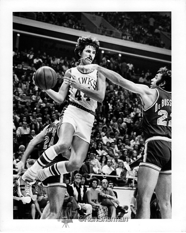 "Peter ""Pistol Pete"" Press Maravich, June 22, 1947 – January 5, 1988, was an American professional basketball player.  The Atlanta Hawks selected Maravich with the third pick in the first round of the 1970 NBA Draft. Maravich appeared in 81 games and average 23.2 points per contest — good enough to earn NBA All-Rookie Team honors."