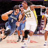 11-10 TIMBERWOLVES AT LAKERS