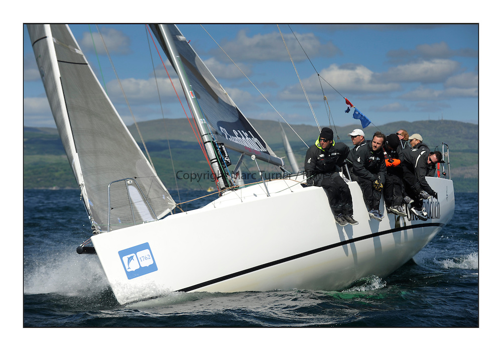 Brewin Dolphin Scottish Series 2012, Tarbert Loch Fyne - Yachting - Day 3 GBR9197R, FEVER Glenfiddich, Grant Gordon, ..