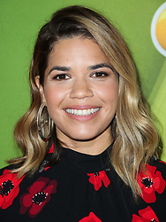 America Ferrera wearing Kate Spade New York arrives at the 2017 NBC Summer TCA Press Tour held at The Beverly Hilton Hotel on August 3, 2017 in Beverly Hills, California. 03 Aug 2017 Pictured: America Ferrera. Photo credit: IPA/MEGA TheMegaAgency.com +1 888 505 6342