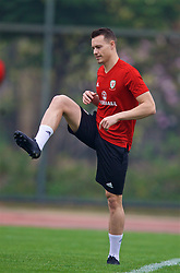NANNING, CHINA - Sunday, March 25, 2018: Wales' Billy Bodin during a training session at the Guangxi Sports Centre ahead of the 2018 Gree China Cup International Football Championship final match against Uruguay. (Pic by David Rawcliffe/Propaganda)