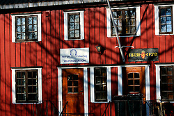 NORWAY LOFOTEN 27MAR07 - Facade of a fishermen's hostel in Henningsvaer on the Lofoten islands...jre/Photo by Jiri Rezac..© Jiri Rezac 2007..Contact: +44 (0) 7050 110 417.Mobile:  +44 (0) 7801 337 683.Office:  +44 (0) 20 8968 9635..Email:   jiri@jirirezac.com.Web:    www.jirirezac.com..© All images Jiri Rezac 2007 - All rights reserved.