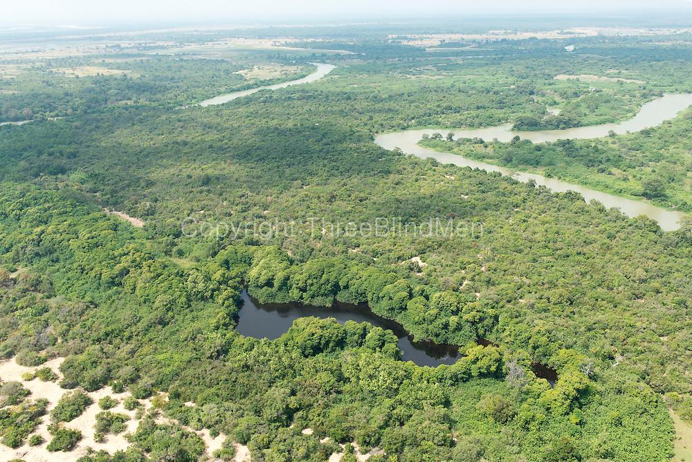 South of Trincomalee, near where the Mahaweli River enters the sea. East Coast.