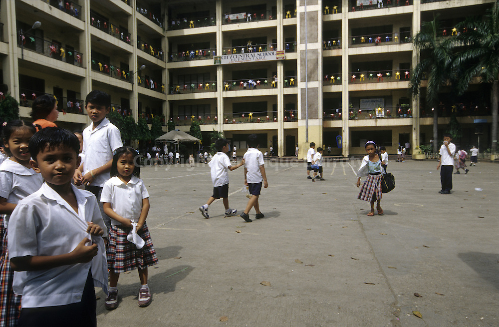 IN A SCHOOL, MANILA, LUZON, THE PHILIPPINES