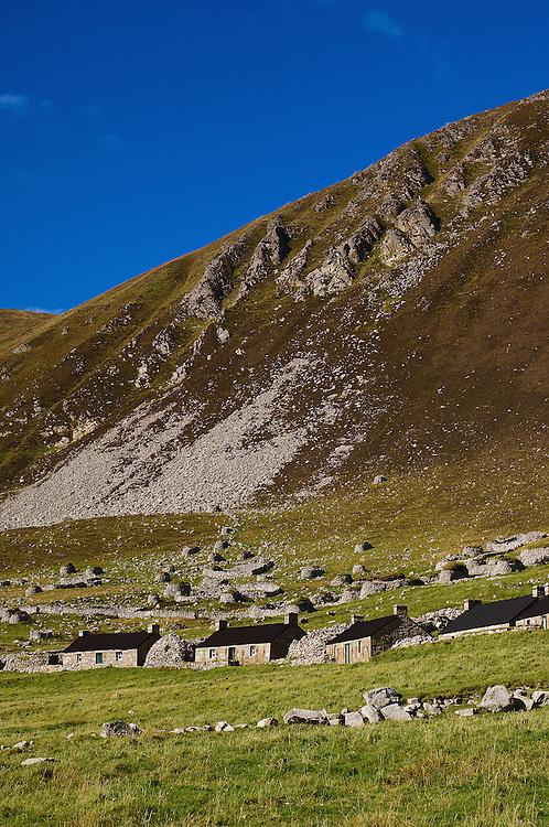 Stone houses of The Village, St. Kilda