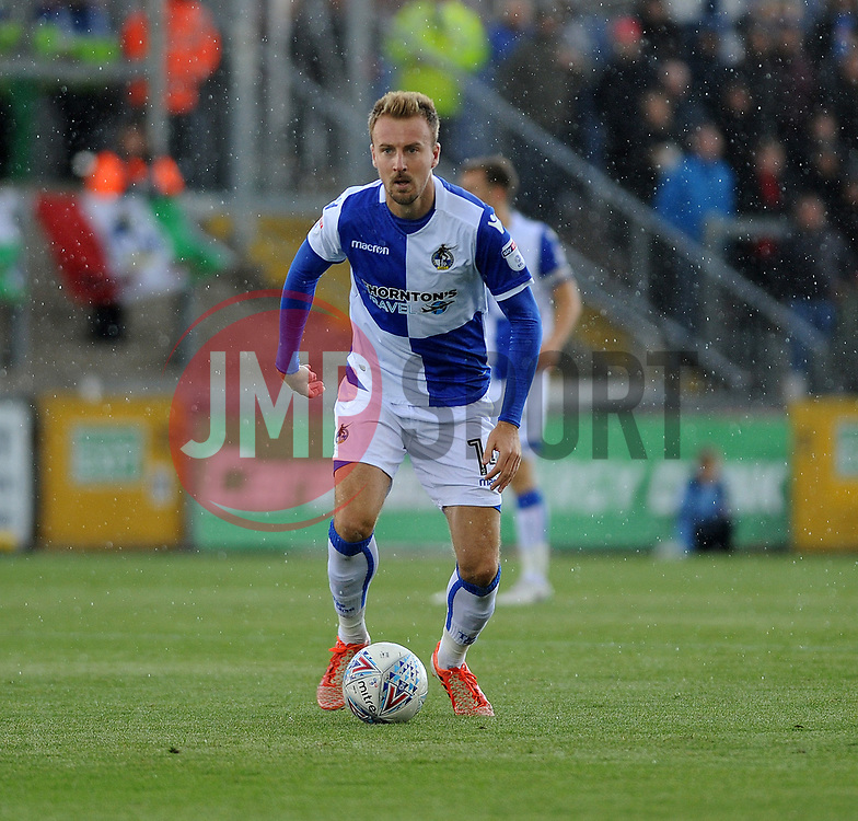 Chris Lines of Bristol Rovers - Mandatory by-line: Neil Brookman/JMP - 09/09/2017 - FOOTBALL - Memorial Stadium - Bristol, England - Bristol Rovers v Walsall - Sky Bet League One