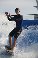 The launch of Royal Caribbean International's Oasis of the Seas, the worlds largest cruise ship..Flowrider