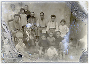 eroding glass plate with a very large family