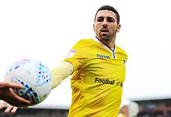 Liam Sercombe of Bristol Roverstakes the ball from a ball boy - Mandatory by-line: Matt McNulty/JMP - 27/04/2019 - FOOTBALL - Highbury Stadium - Fleetwood, England - Fleetwood Town v Bristol Rovers - Sky Bet League One