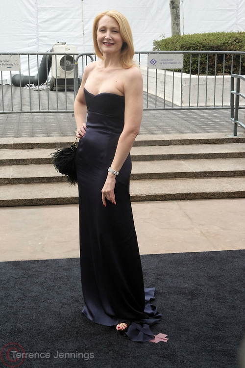 Patricia Clarkson arrives at The Metropolitan Opera's 125th Anniversary Gala and Placido Domingo's 40th Anniversary Celebration underwritten by Yves Saint Laurent held at The Metropolitian Opera House, Lincoln Center on March 15, 2009 in New York City.