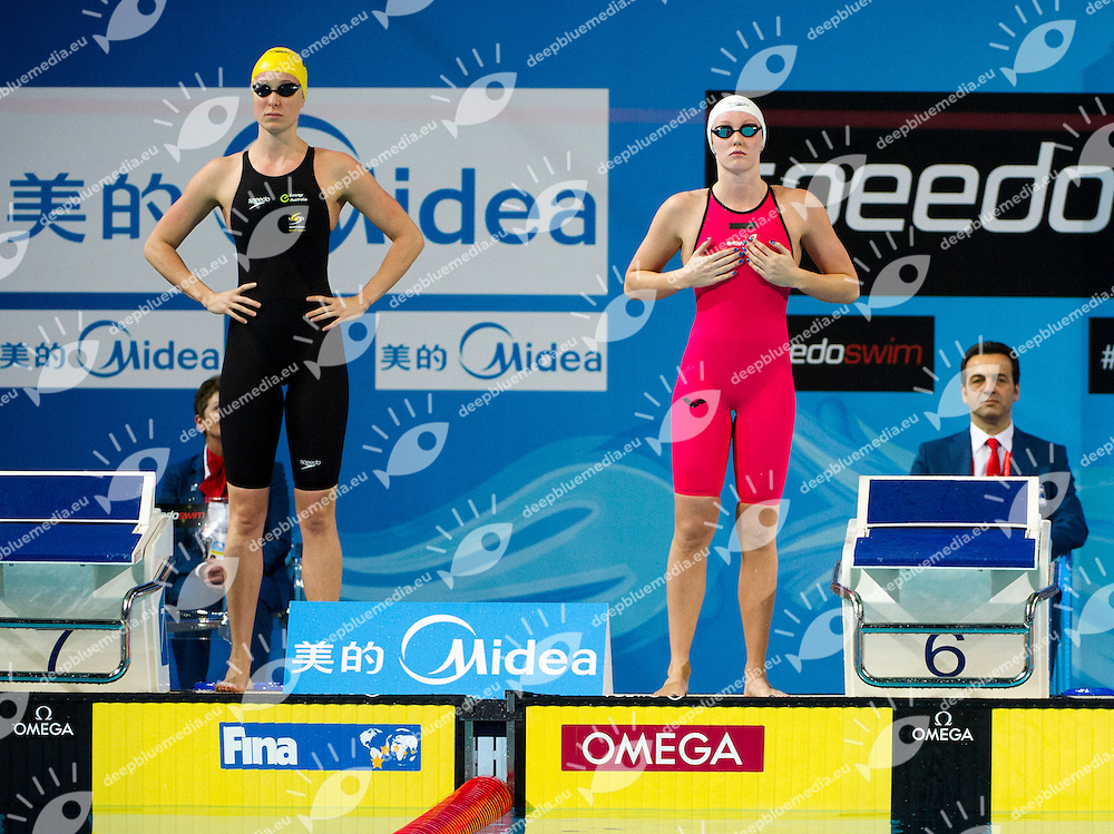 HALSALL Francesca GBR  Silver Medal.Women's 50m Freestyle.FINA World Short Course Swimming Championships.Istanbul Turkey 12 - 16 Dec. 2012.Day 05.Photo G.Scala/Deepbluemedia/Inside