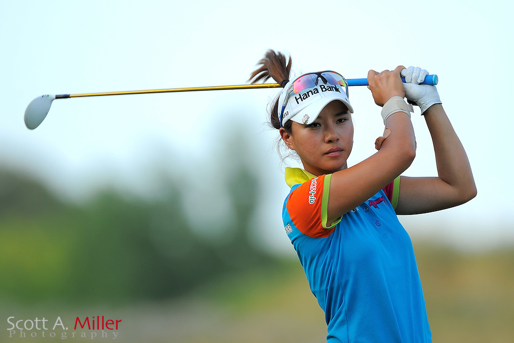 Hee Young Park during the first round of the US Women's Open at Blackwolf Run on July 5, 2012 in Kohler, Wisconsin. ..©2012 Scott A. Miller