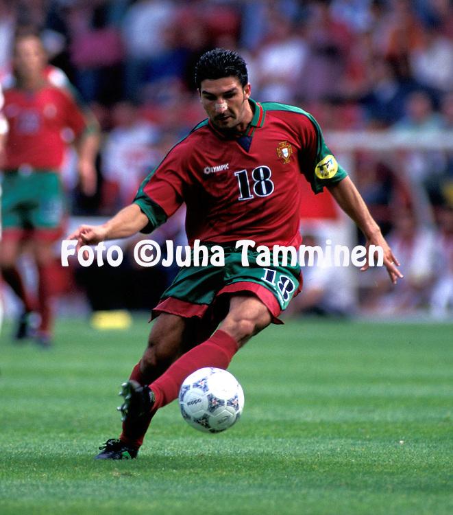 UEFA European Championship 1996.Folha - Portugal.©Juha Tamminen
