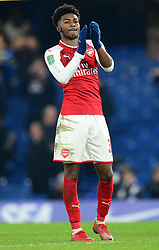 Ainsley Maitland-Niles of Arsenal - Mandatory by-line: Alex James/JMP - 10/01/2018 - FOOTBALL - Stamford Bridge - London, England - Chelsea v Arsenal - Carabao Cup semi-final first leg