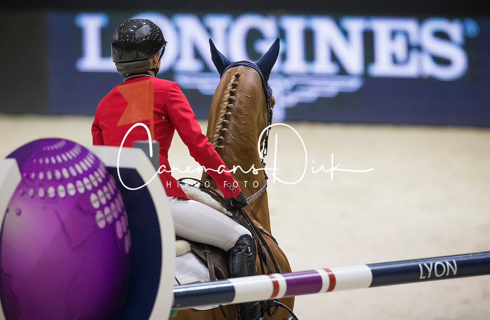 Davis Lucy (USA) - Barron<br /> Longines FEI World Cup&trade; Jumping Final 2013/2014<br /> Lyon 2014<br /> &copy; Dirk Caremans