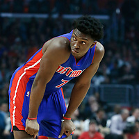 07 November 2016: Detroit Pistons forward Stanley Johnson (7) is seen during the LA Clippers 114-82 victory over the Detroit Pistons, at the Staples Center, Los Angeles, California, USA.