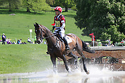 Kazuma Tomato (JAP) on Tacoma Dhorset during the International Horse Trials at Chatsworth, Bakewell, United Kingdom on 13 May 2018. Picture by George Franks.