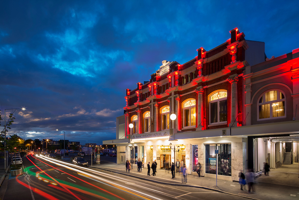 Isaac Theatre in Christchurch. Restored and working well.. New Zealand.
