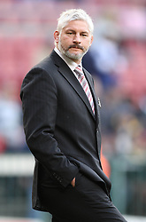 Crusaders Coach Todd Blackadder during the Super Rugby Semi-Final match between DHL Stormers and the Crusaders held at DHL Newlands Stadium in Cape Town, South Africa on 2 July 2011...Photo by Shaun Roy / Sportzpics.net