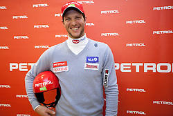 Andrej Jerman - Jerry at press conference of Men Alpine Ski team and sponsor Petrol, on December 8, 2010 in Petrol, Ljubljana, Slovenia. (Photo By Vid Ponikvar / Sportida.com)