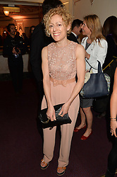 GEORGIE HOPTON at The Backstage Gala hosted by Diana Vishneva , Principal Dancer of the Mariinsky and American Ballet Theatre, and Natalia Vodianova in aid of The Naked Heart Foundation held at The London Coliseum, St.Martin's Lane, London on 17th April 2015.