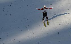 24.02.2017, Lahti, FIN, FIS Weltmeisterschaften Ski Nordisch, Lahti 2017, Nordische Kombination, Skisprung, im Bild Hideaki Nagai (JPN) // Hideaki Nagai of Japan during Skijumping of Nordic Combined competition of FIS Nordic Ski World Championships 2017. Lahti, Finland on 2017/02/24. EXPA Pictures © 2017, PhotoCredit: EXPA/ JFK