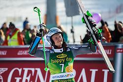 KRISTOFFERSEN Henrik of Norway celebrates during trophy ceremony after the Audi FIS Alpine Ski World Cup Men's Giant Slalom 58th Vitranc Cup 2019 on March 9, 2019 in Podkoren, Kranjska Gora, Slovenia. Photo by Peter Podobnik / Sportida