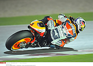 DANI PEDROSA SPA..REPSOL HONDA TEAM..HONDA..MotoGP Grand Prix Qatar 2010 (Circuit Losail) ..11.04.2010..PSP/LUKASZ SWIDEREK *** Local Caption *** pedrosa (dani)