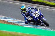 Cru Halliday (65) riding for Yamaha Racing Team in Q1 during round 6 of the Australian Superbike Championship on October 05, 2019 at Phillip Island Circuit, Victoria. (Image Dave Hewison/ Speed Media)