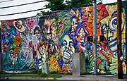 Mural at 12th and Chicon, Austin, Texas, April 23, 2014.