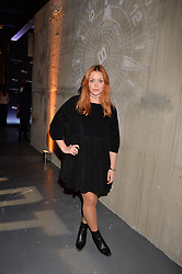 LONDON, ENGLAND 6 DECEMBER 2016: <br /> Arielle Free at the Fabergé Visionnaire DTZ Launch held on the 39th Floor Penthouse, South Bank Tower, Upper Ground, London, England. 6 December 2016.