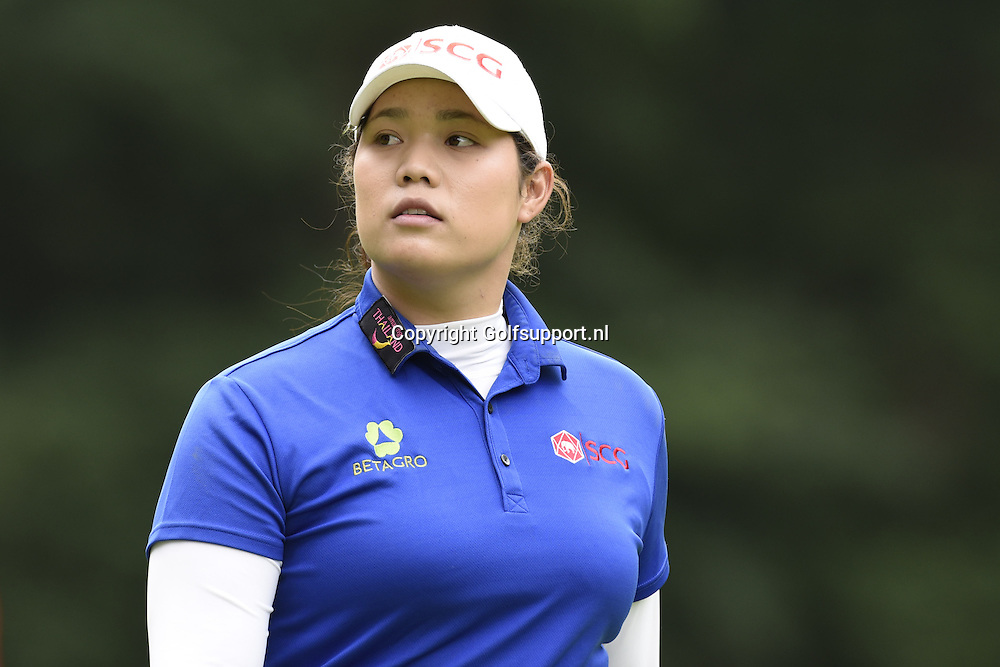 30/07/2016 Ladies European Tour 2016, Ricoh Women's British Open, Woburn Golf Club, England, UK. 28-31 Jul. Ariya  Jutanugarn of Thailand  during the third round.