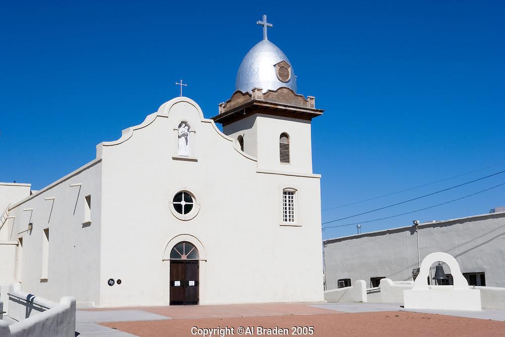 Ysleta del Sur Mission is an historic mission in El Paso, Texas, originally founded in 1682 following the Pueblo Revolt in New Mexico.
