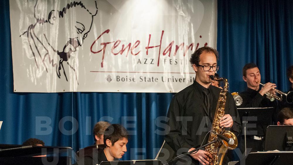 Gene Harris Jazz Festival, student performances, Carrie Quinney photo