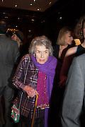 COUNTESS MOUNTBATTEN OF BURMA , Book launch for ' Daughter of Empire - Life as a Mountbatten' by Lady Pamela Hicks. Ralph Lauren, 1 New Bond St. London. 12 November 2012.