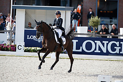Maas Lynne, NED, Fantastique<br /> Longines FEI/WBFSH World Breeding Dressage Championships for Young Horses - Ermelo 2017<br /> © Hippo Foto - Dirk Caremans<br /> 03/08/2017