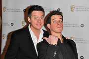 28.NOVEMBER.2010. LONDON<br /> <br /> RICHARD MCCORT & DOMINIC WOOD (DICK & DOM) ATTENDS THE BRITISH ACADEMY CHILDREN'S AWARDS 2010 HELD AT THE HILTON PARK LANE.<br /> <br /> BYLINE: EDBIMAGEARCHIVE.COM<br /> <br /> *THIS IMAGE IS STRICTLY FOR UK NEWSPAPERS AND MAGAZINES ONLY*<br /> *FOR WORLD WIDE SALES AND WEB USE PLEASE CONTACT EDBIMAGEARCHIVE - 0208 954 5968*