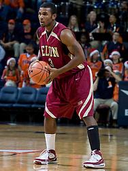 Elon guard Montell Watson (3) in action against Virginia.  The Virginia Cavaliers men's basketball team defeated the Elon Phoenix 91-61  at the John Paul Jones Arena in Charlottesville, VA on December 22, 2007.