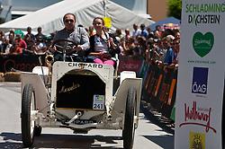 16.07.2011, Groebming, AUT, Ennstal Classic 2011, Chopard Grand Prix, im Bild Jochen Mass (Mercedes Simplex 40PS, Bj. 1902) // during Chopard Grand Prix at the Ennstal Classic 2011 in Groebming, Austria on 16/7/2011. EXPA Pictures © 2011, PhotoCredit: EXPA/ J. Groder