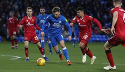 Matt Godden of Peterborough United in action against Walsall - Mandatory by-line: Joe Dent/JMP - 22/12/2018 - FOOTBALL - ABAX Stadium - Peterborough, England - Peterborough United v Walsall - Sky Bet League One