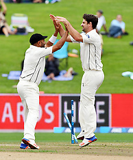 Hamilton-Cricket, New Zealand v South Africa, 3rd test, day 1