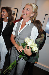 TAMARA BECKWITH at a private view of the late Patrick Lichfield: Nudes at The Little Black gallery, 13A Park Walk, London SW10 on 26th April 2012.
